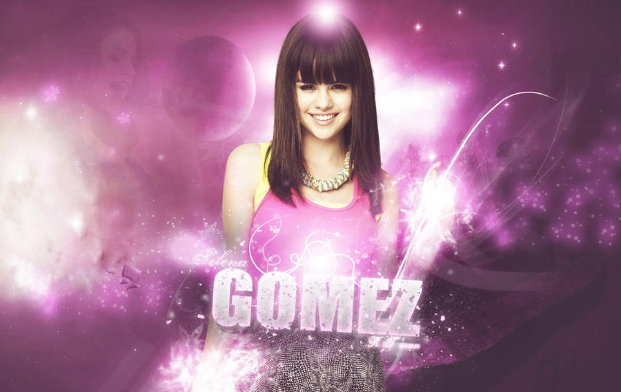 Selena Gomez Wallpaper By RT-man by RT-man on DeviantArt