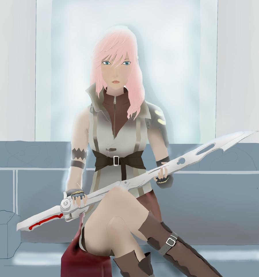 Lightning Final Fantasy XIII by Caroline-RG