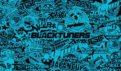 BLACKTUNERS TEAM 2020 STICKERBOMB WALLPAPER V2