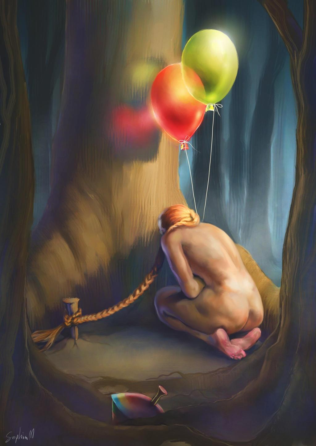 Prisoner of memories by Sophia-M