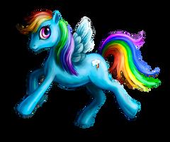 rainbow dash my littel pony by Sophia-M