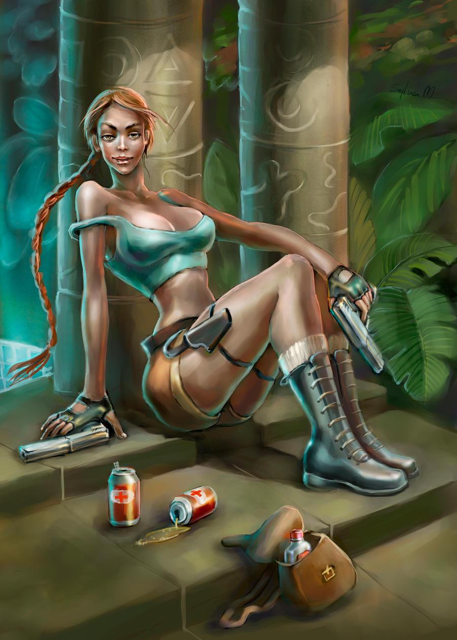 lady lara croft wallpaper - photo #25