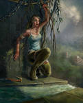 Lara Croft survivor 2