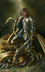 knight by Sophia-M