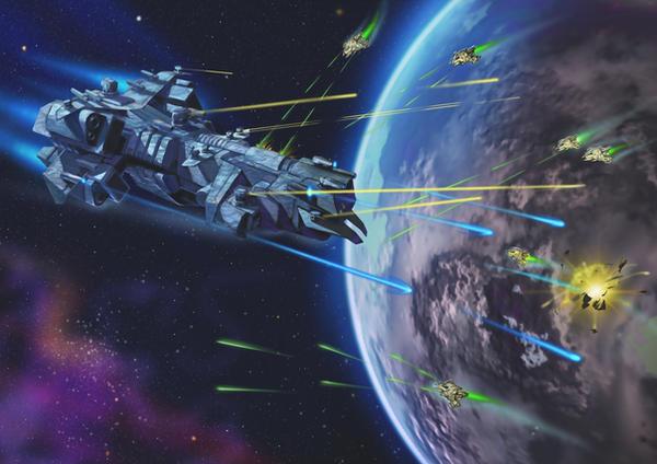 Era: The Consortium. Space combat by Sophia-M