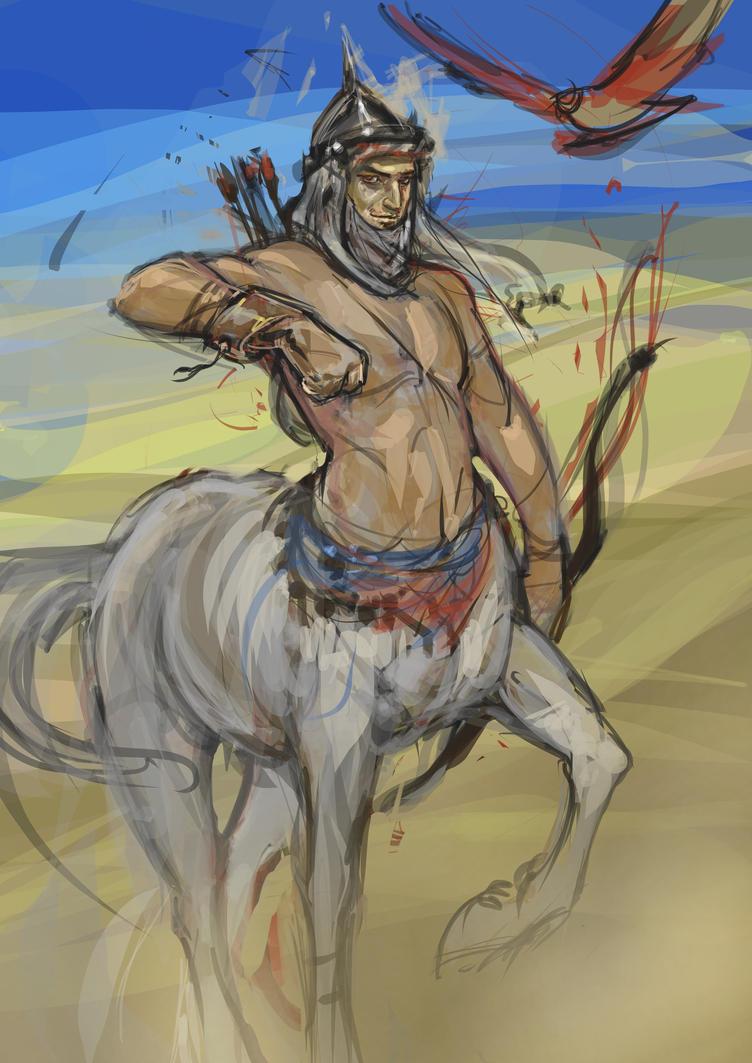 arabian stallion wip by Sophia-M