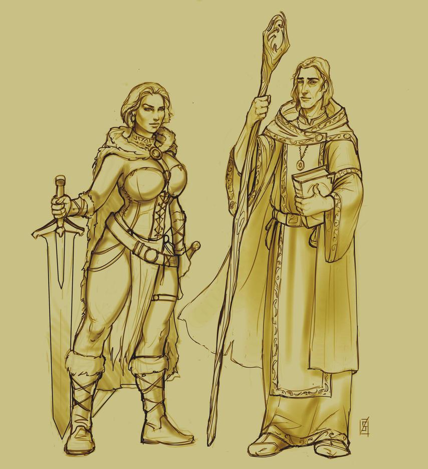 Marthin & Tyra by Sophia-M