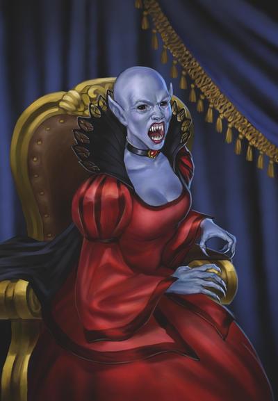 Elder Vampire by Sophia-M