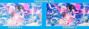 [Large Piece] Freedom Sky [Collabs] - Kizora -