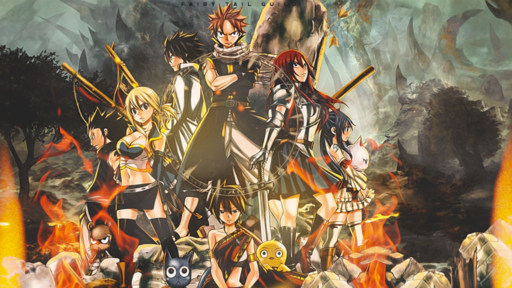 Fairy Tail Guild Wallpaper Hd { Wallpaper } Fairy Ta...