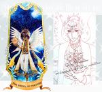 [OPEN] Tarot card-  Blue tourmaline (Update! AB ) by thanyawan