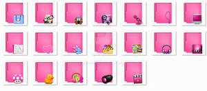 Folders Aquave Pink