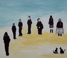 figures cats by MeralSarioglu