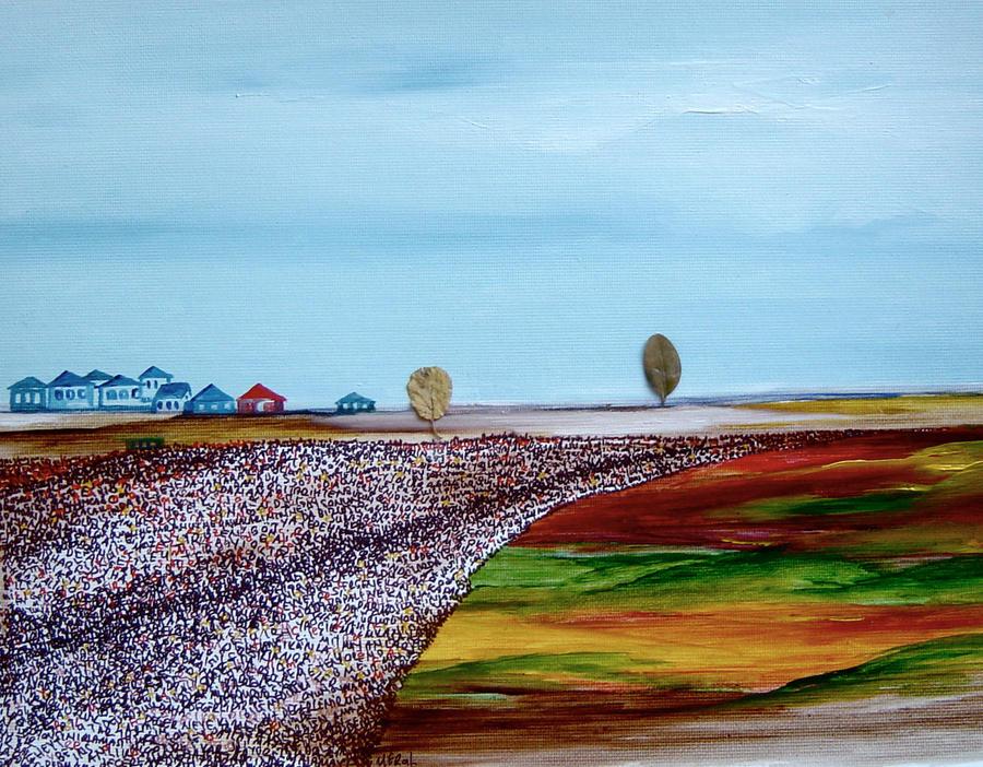 evler - yol - yaprak by MeralSarioglu
