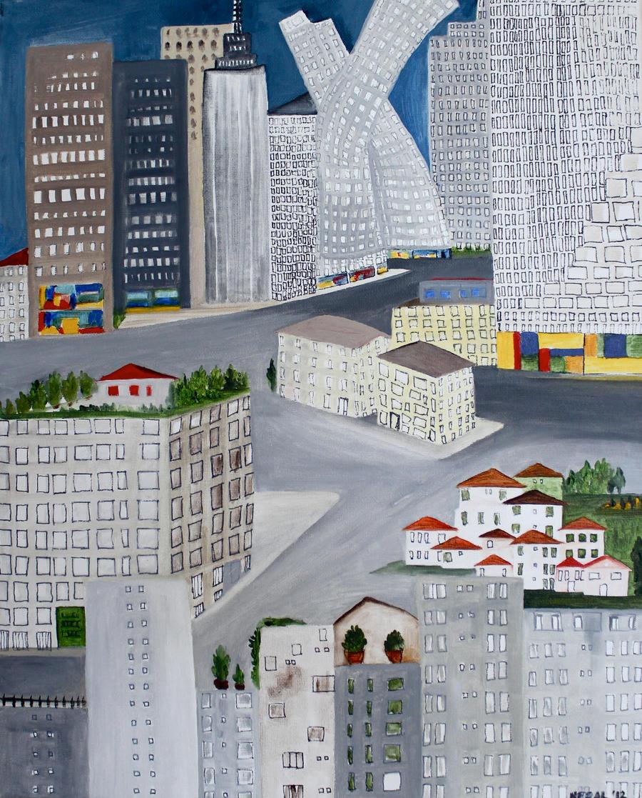 city by MeralSarioglu