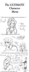 The Ultimate Character Meme - Firia by Atey