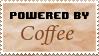 Stamp - Powered by Coffee by AlchemySugar