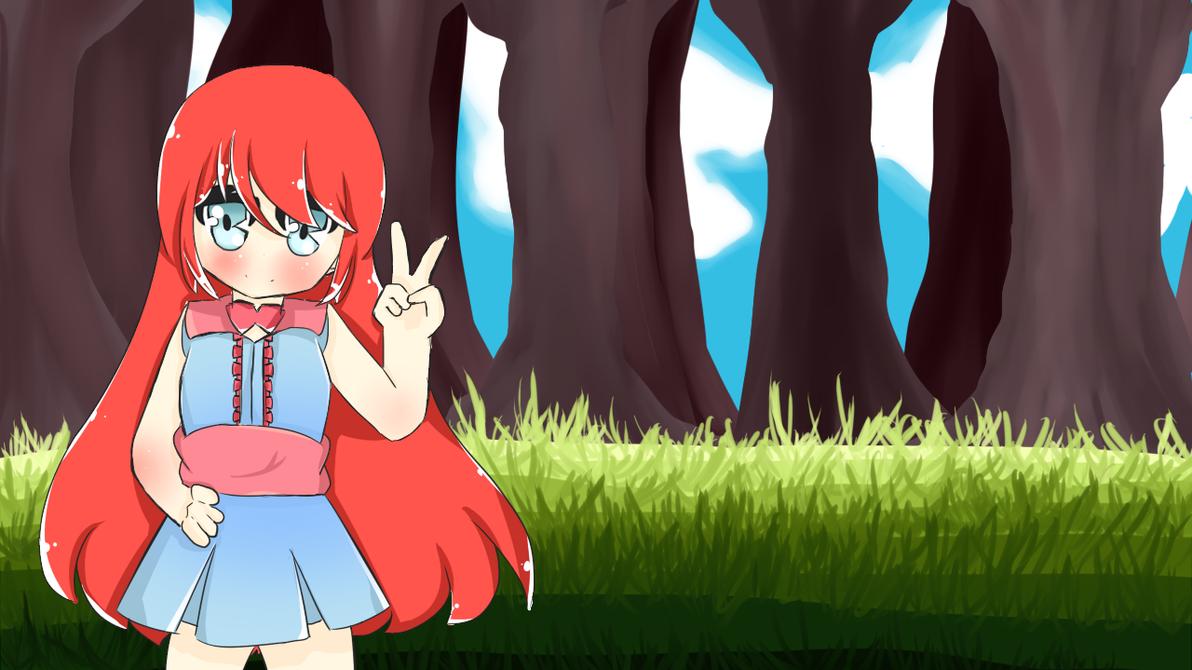 Una parte de una animacion en proceso :3 by ValeLChan