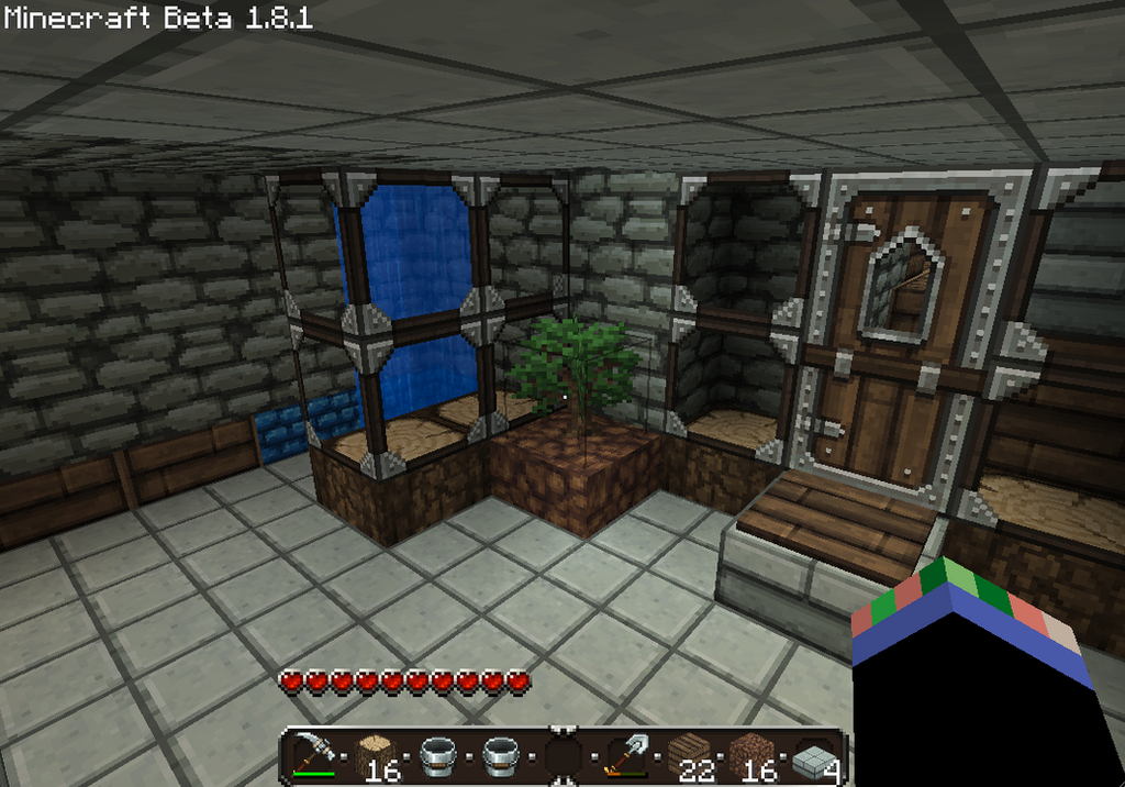 Minecraft bathroom 02 by yukki24 on deviantart for Bathroom ideas minecraft