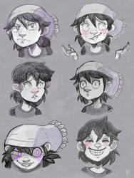 Character Expressions: Fiona by ayudash