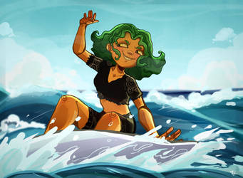 Surf It Up by ayudash