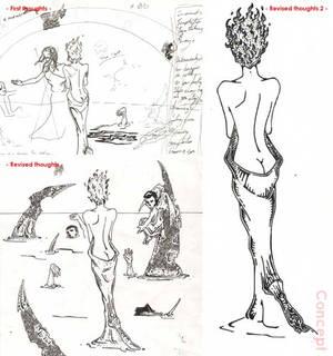 Concept woman