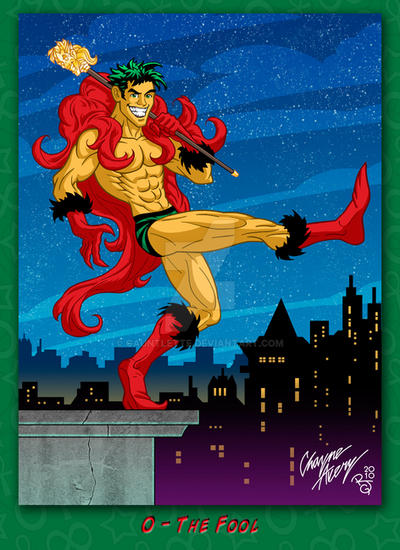 Superhero Tarot Deck By Gauntlette On DeviantArt