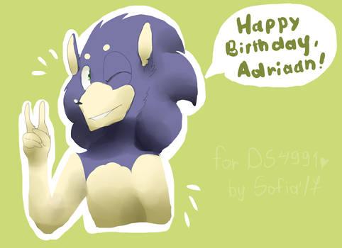 Happy Birthday, Adriaan!