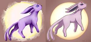 Old vs New Pokemon - Espeon!!