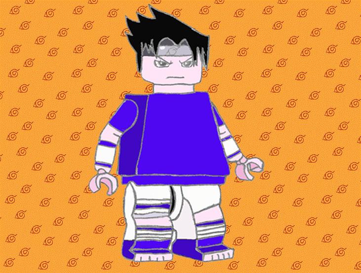 LEGO Sasuke : Part 1 by FariOwl