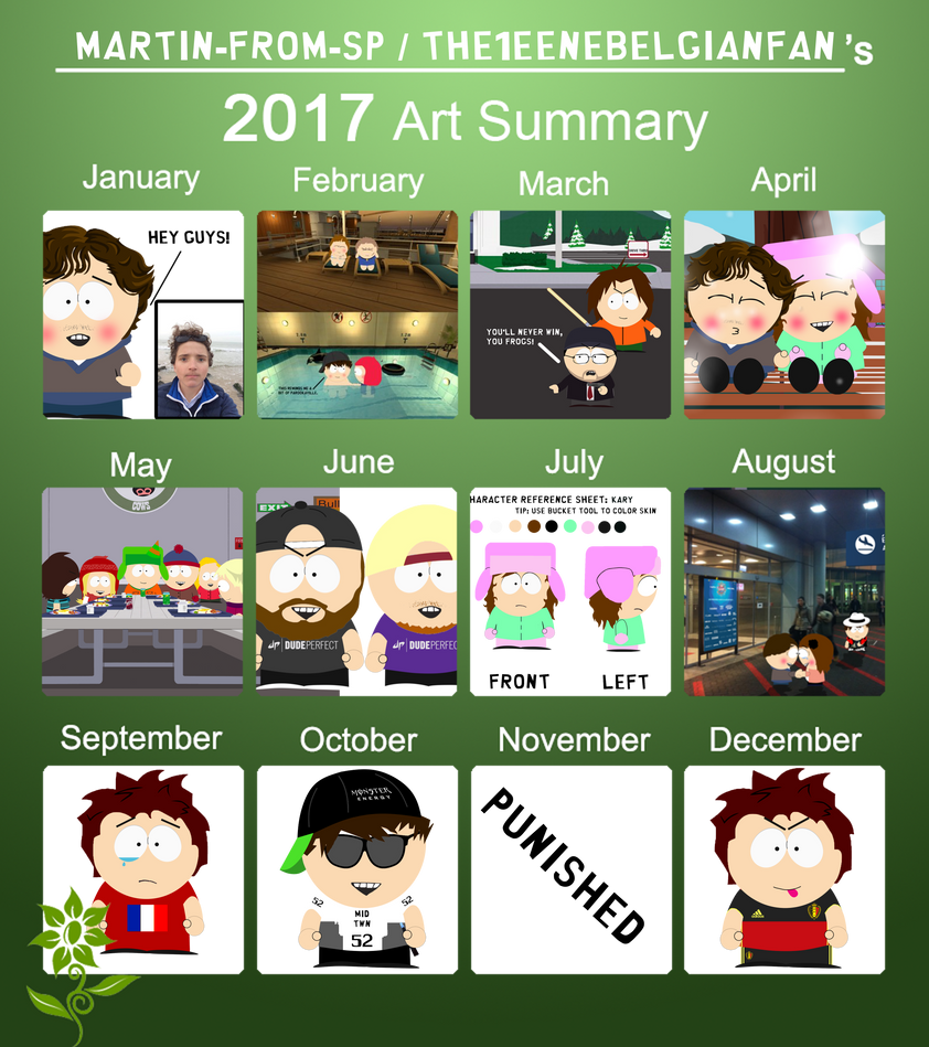 2017 Art summary by Martin-from-SP