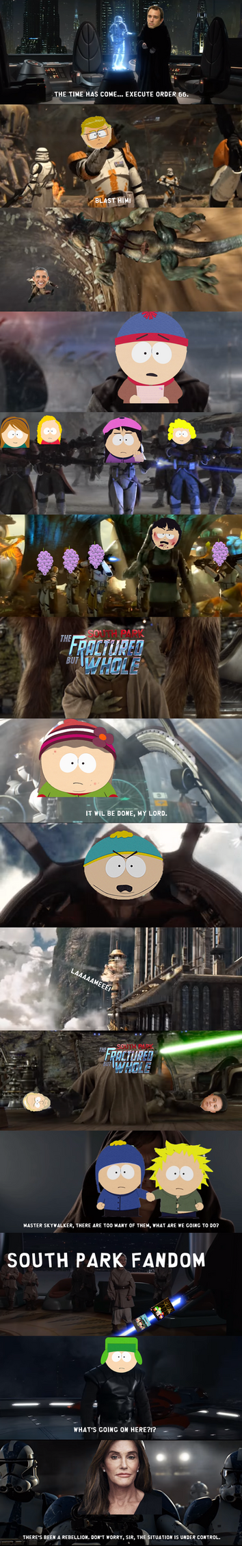 The fall of South Park by Martin-from-SP