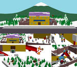 South Park Elementary in Lego