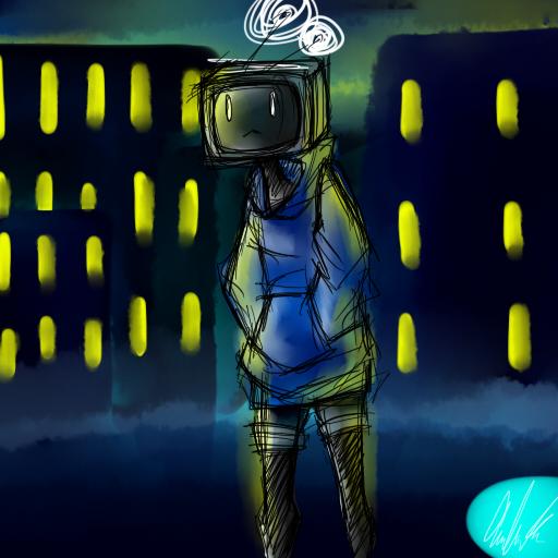 Tv Head by geckofeet