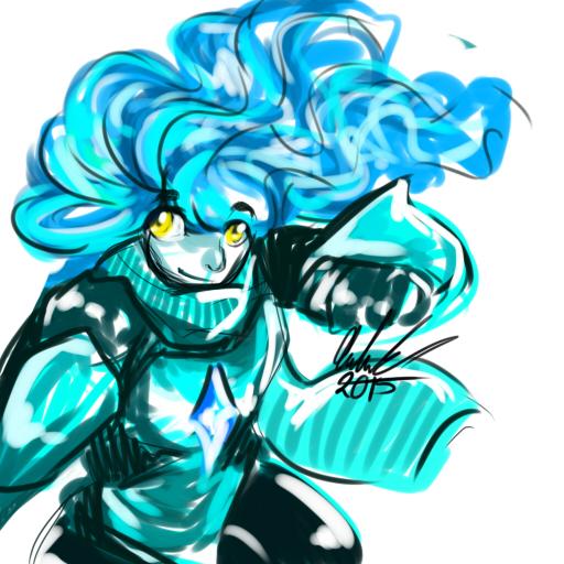 Blue Fire by geckofeet