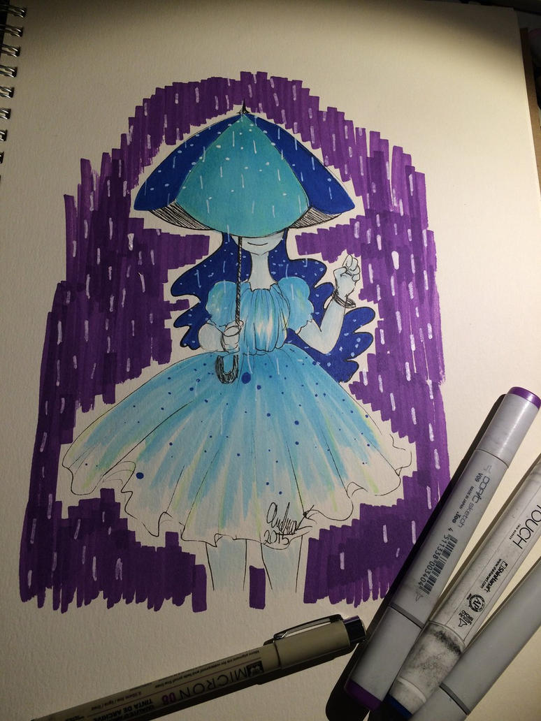 Rain dress by geckofeet