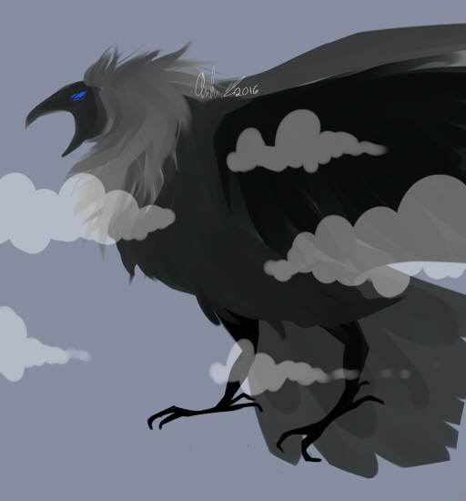 Crow by geckofeet