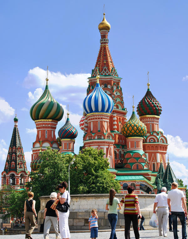 Saint Basil's Cathedral by bulgphoto