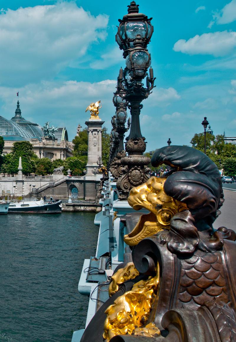 Pont Alexandre III by bulgphoto