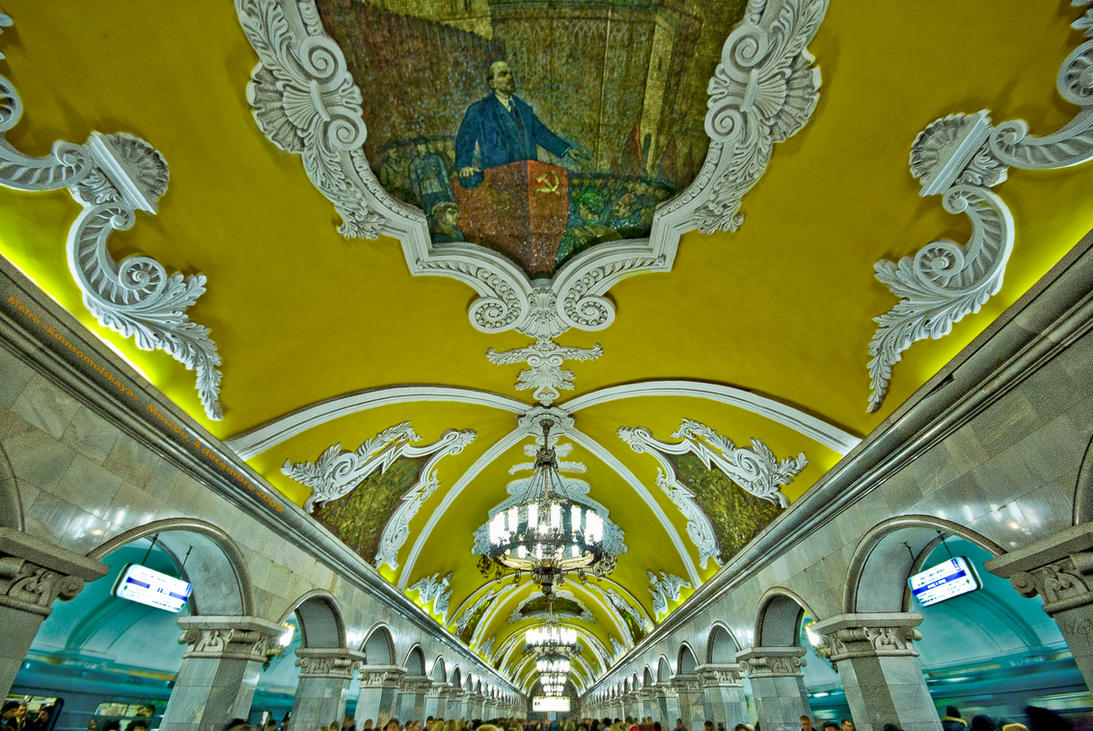 Metro Komsomolskaia by bulgphoto