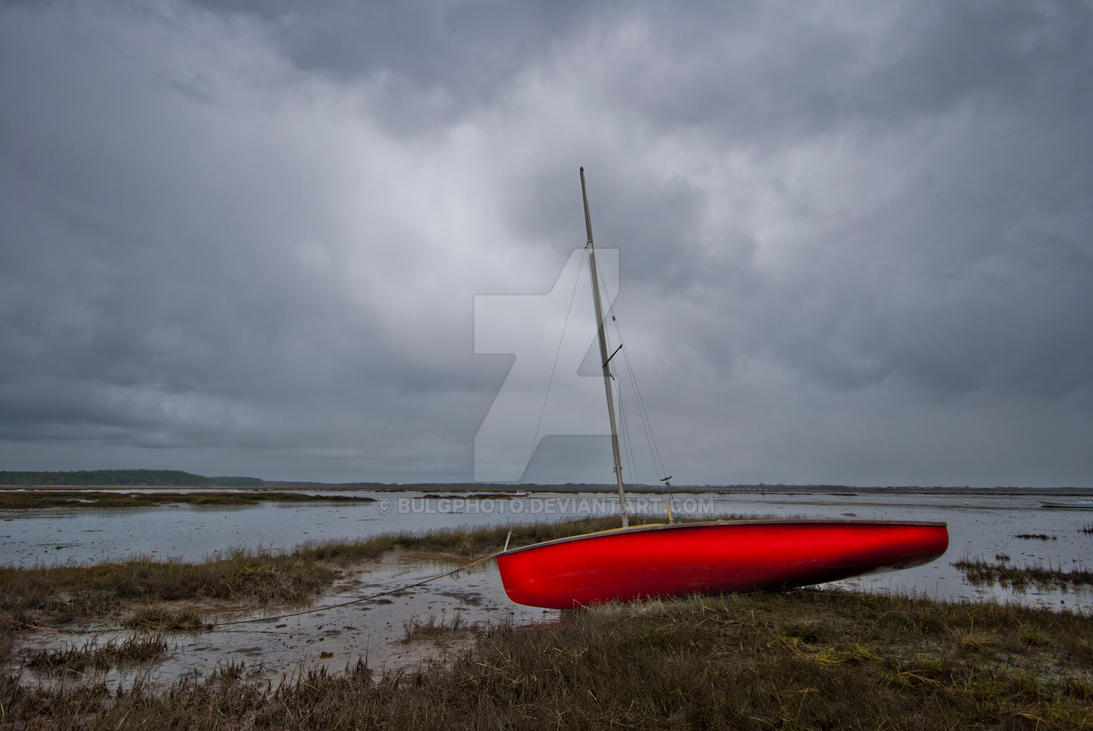 Red Boat by bulgphoto