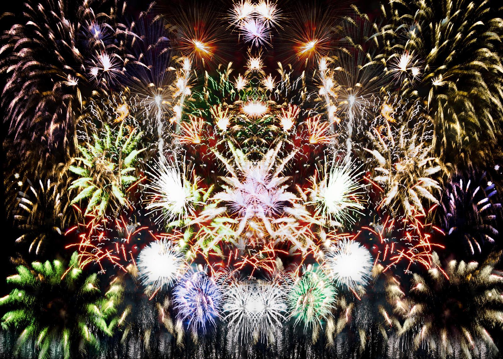 Fireworks by bulgphoto