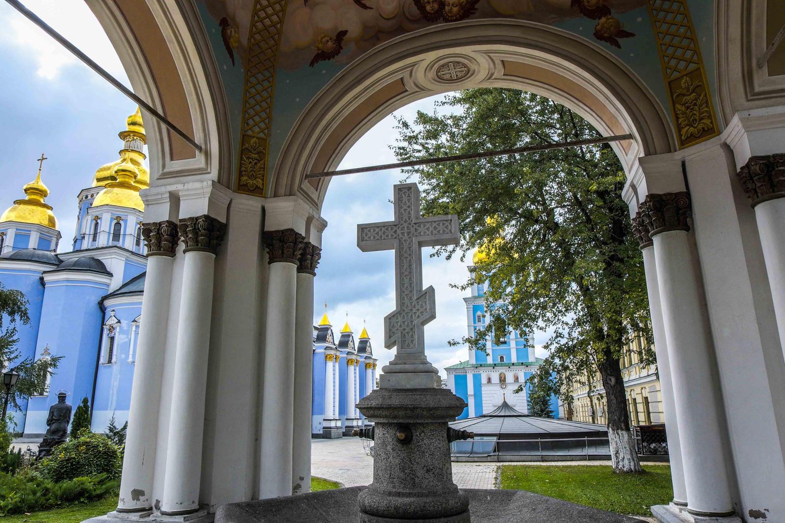 Kiev St Michael monastery 3 by bulgphoto