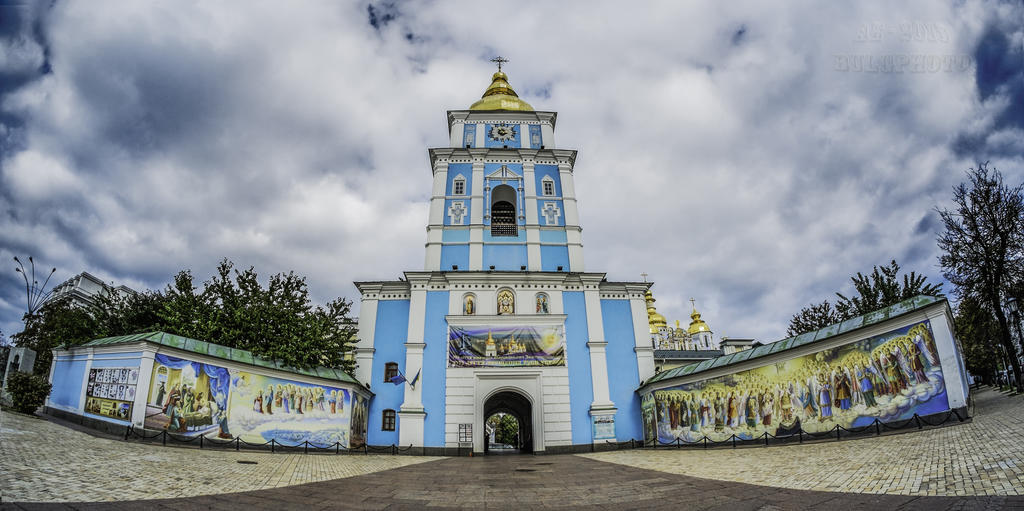 St Michael Monastery Kiev 5 by bulgphoto