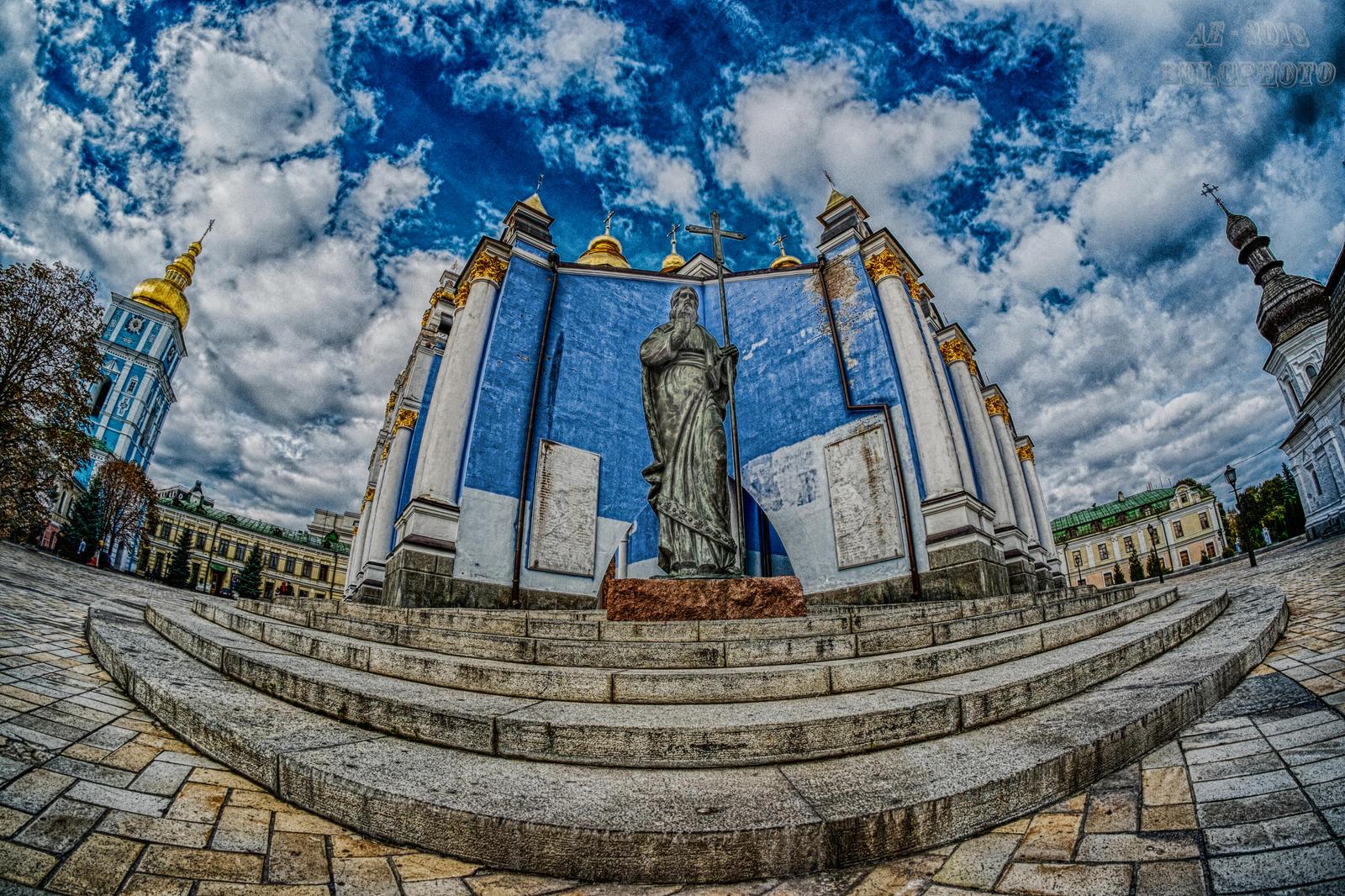 St Michael Monastery Kiev 7 by bulgphoto