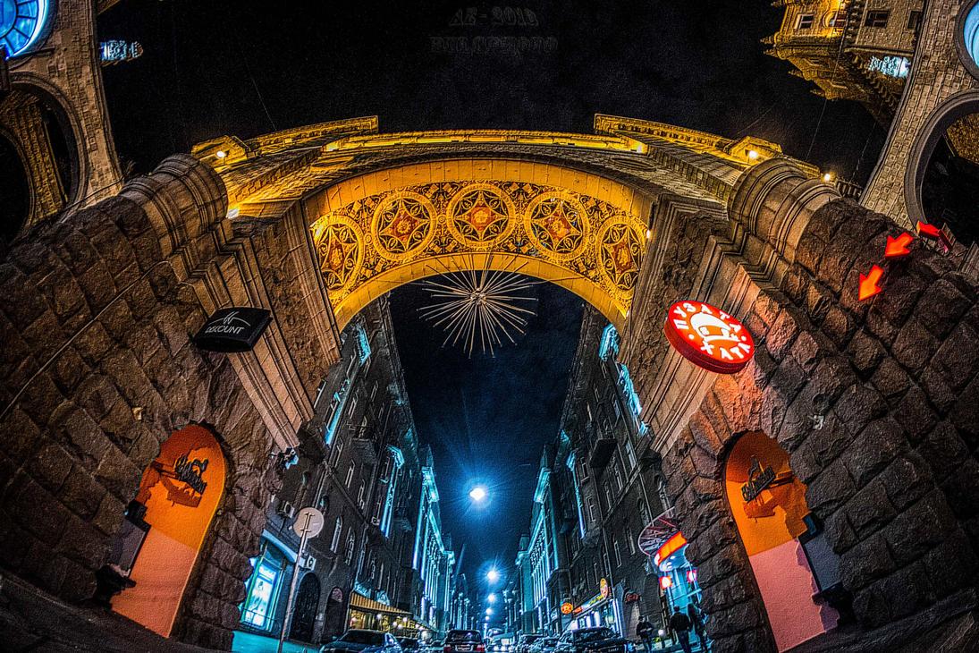 Kiev Night by bulgphoto