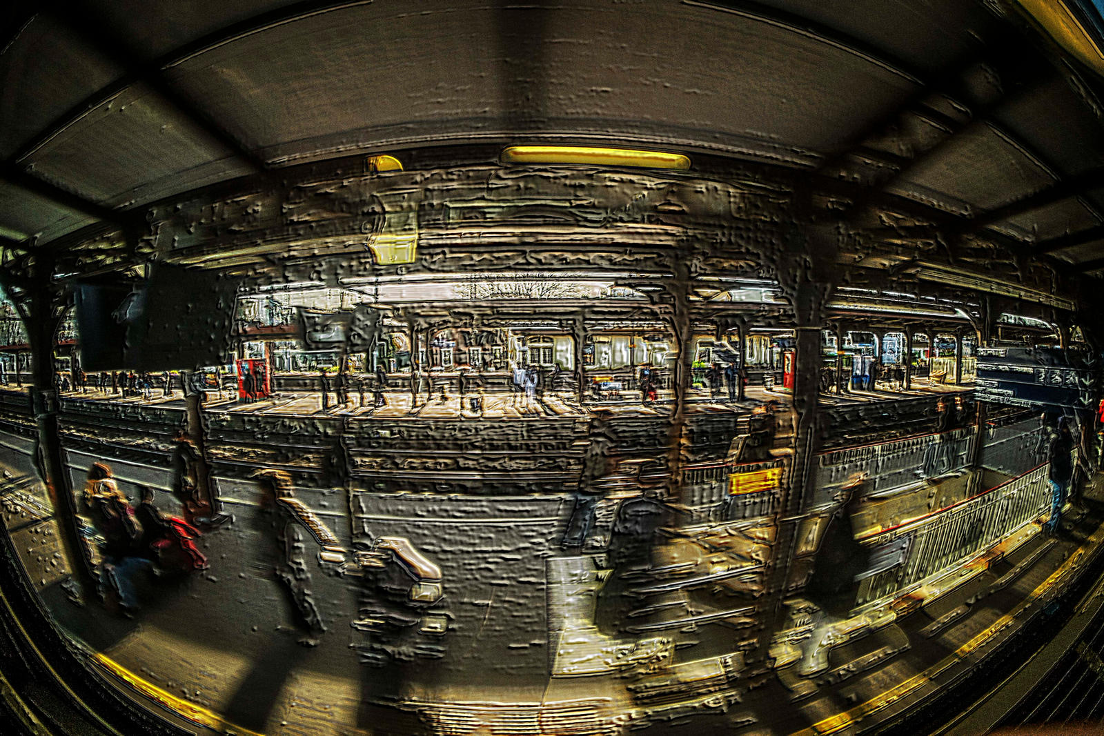On the train by bulgphoto