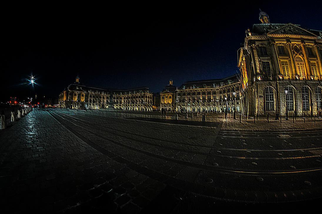 Bordeaux Night by bulgphoto