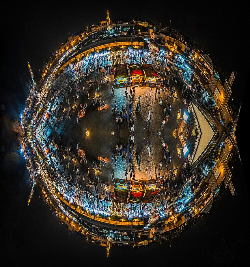 Planet Marrakech by bulgphoto
