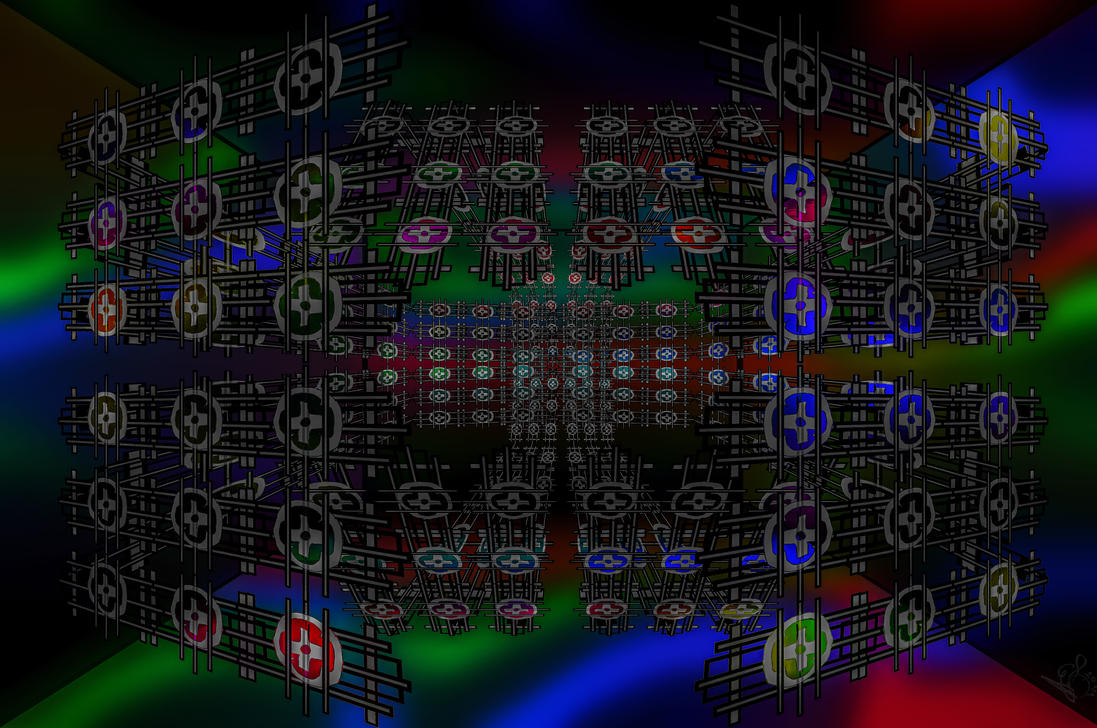 Cross Fractal Machine by bulgphoto